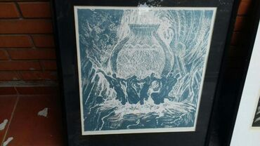 Prodajem 4 slike dela poznatog i priznatog jermenskog slikra Mamyan