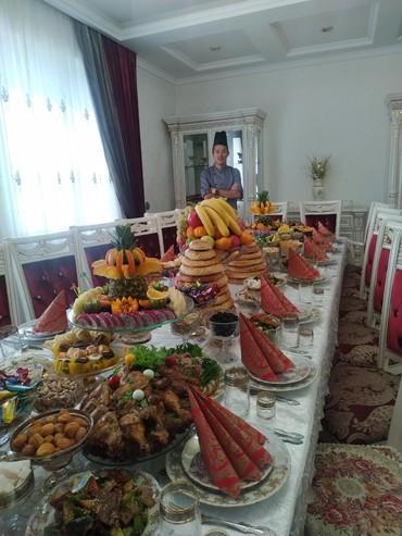 салаты и закуски на в Кыргызстан: Выездной повар на дом в Кыргызстане! Услуги шеф повара на выезд. Компл