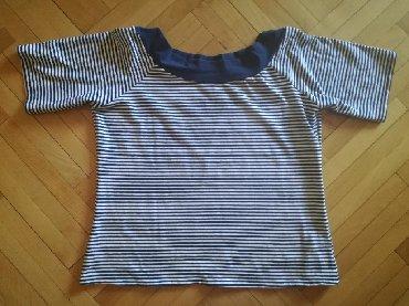 Kosulja-svilena-teget-plava - Srbija: Majica pamucna, ima elastina. Teget plava boja