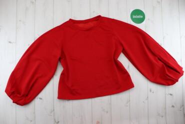 Жіноча яскрава блузка з воланами    Довжина: 53 см Ширина плечей: 37 с