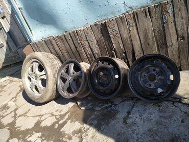 диски бу r17 в Кыргызстан: Все в комплекте по 4 штОбычные диски R14 по 400 за 1штДиски БМВ R15 по