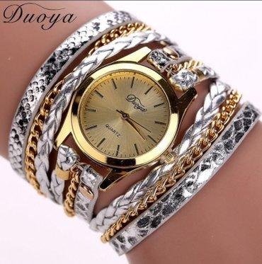 Ženski satovi narukvice Boje kao sa slike: crna, plava, braon, zlatna, - Nis - slika 5
