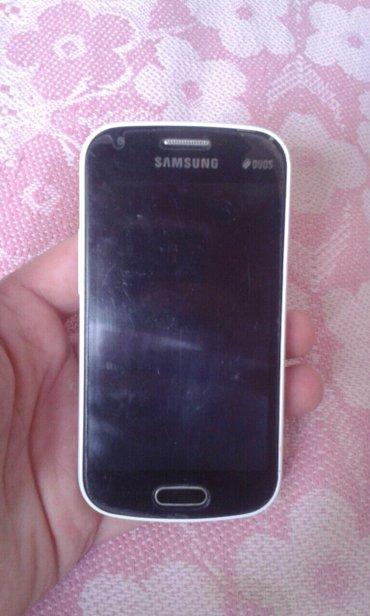 Sumqayıt şəhərində Samsung galaxy duos gt-s7562 satıram. Problemi yoxdur. Qiyməti sondur.