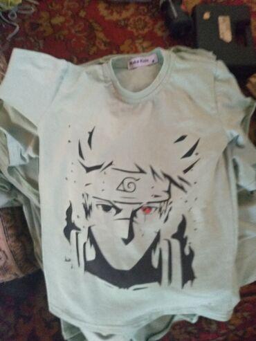 Продам футболку наруто новый!!7-8лет