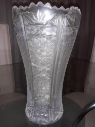Antikvarne vaze   Srbija: BRUŠENA kristalna vaza i pepeljara - stari oko 50 godinaUkoliko niste