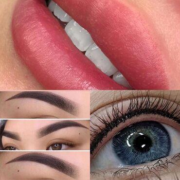 Нам каждый день нужны модели наперманентный макияж (бровей, губ