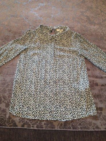 женские вельветовые юбки в Азербайджан: Koton 1 defe geyinilib,xs-s-e gedir Женское блузка, тигровая. Как нова