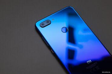 Электроника - Байтик: Xiaomi Mi 8 Lite | 64 ГБ | Синий | Сенсорный, Отпечаток пальца, Две SIM карты