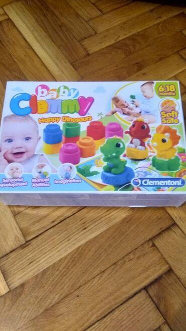 Majica goa - Srbija: Clementoni gumene kocke za najmladje 22 kocke