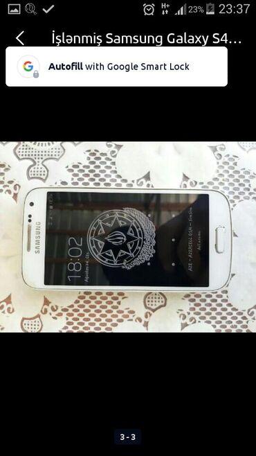 Samsung Göyçayda: İşlənmiş Samsung Galaxy S4 Mini Plus 8 GB ağ
