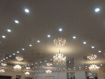 Натяжной потолок в Бишкек