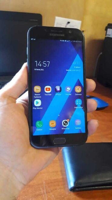Samsung a7 2015 - Азербайджан: Б/у Samsung A7 Черный