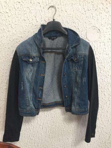 Ženske jakne | Nis: Teksas Tally Wejil jakna sa koznim crnim rukavima, veoma moderna