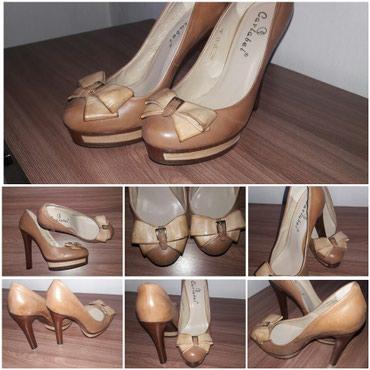 Шикарные кожаные туфли, сост отл, размер 37 в Бишкек