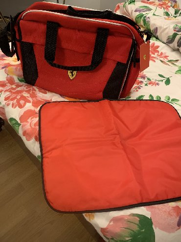 - Azərbaycan: Baby bags Ferrari original