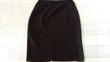 Suknje - Srbija: Suknja br. 36 nova,kupljena u Fr,95% poliester i 5% elastin,55cm