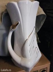 Prelepa porcelanska vaza,malo koriscena. - Kikinda