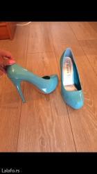 Udobne cipele na platformu prelepe boje,38 broj akcija - Palic