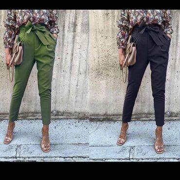 Elegantne pantalone visoki struk NOVO SA ETIKETOM!* Nova Kolekcija