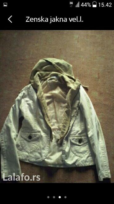 Zenska jakna prelepog izgleda vel  l - Lebane