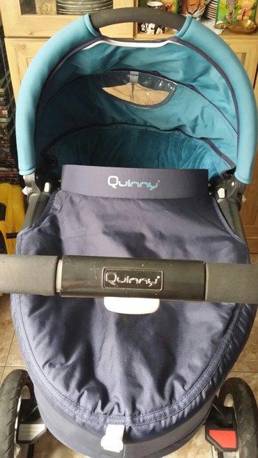 Sivi donji deo - Srbija: Quinny buzz xtra kolica od 0 do 12kg, u dobrom stanju, sadrzi ram