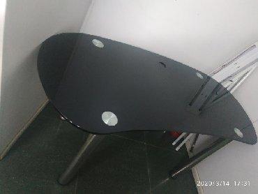 стол стеклянный в Кыргызстан: Продаю офисный стеклянный стол