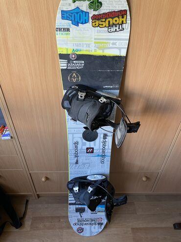 Сноуборды в Кыргызстан: Продаю сноуборд Nidecker Advanced с креплениями Flow Alpha MTN 2019