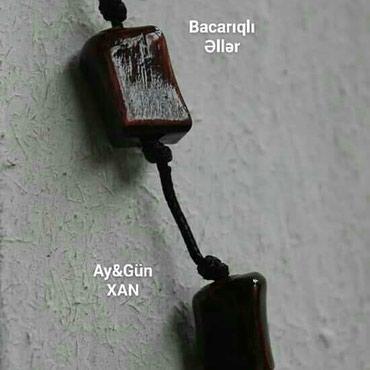 Bakı şəhərində Seplər,qolbaqlar,kulonlar...bəzək aksessuarları/əl işləri/
