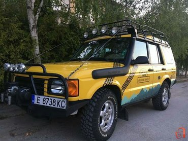 Land Rover Discovery 3 l. 2000   130000 km