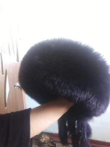 Продаю кожаные норка головной убор б.у состоянии отлично в Лебединовка