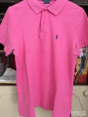 Men's T-shirts - Srbija: Roze polo majca Ralph Lauren, M veličina, dužina 70cm, širina 52cm