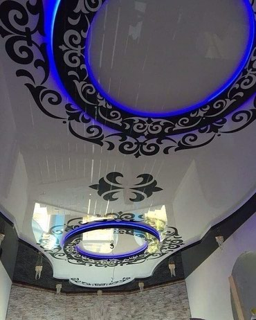 Натяжной потолок 300 с работой недорого в Бишкек