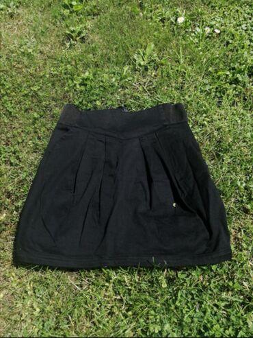Suknje | Srbija: Pamucna suknja od tvrdog pamuka, h&m. Odgovara velicini s/m. Ima