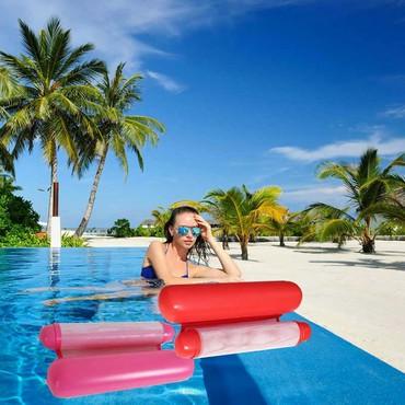 Надувной шезлонг гамак для плавания Floating Bed+бесплатная доставка
