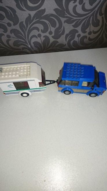 Oyuncaq Lego original машинка с прицепом  игрушка maşın