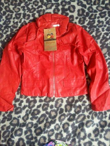 Куртка красная. под кожу. на подкладе. в Бишкек