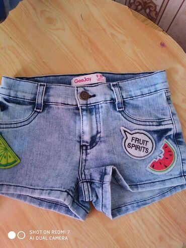 Новые шортики для девочек, 9-10 лет, фирменные, качество отличное