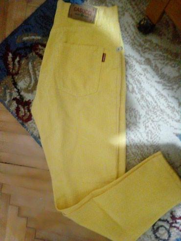 Nove žute farke, kvalitetne. Nijednom nisu nošene. Vel 27. - Lazarevac