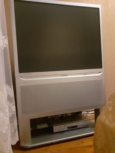 dvd плеер samsung в Азербайджан: Samsung televizoru satılır.Qiymət:300 manatdırƏlavə DVD player də