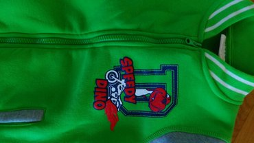 DUKS jakna,extra za prelazni period,sa motivom dinosaurusa,broj 116. - Beograd - slika 4