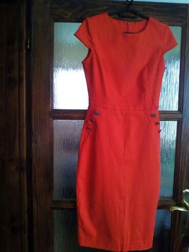 Din haljina - Srbija: Tiffani haljina, broj S, jedanput obucena, 1500 dinara, strukirana