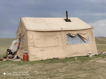 Палатки - Бишкек: Большая палатка. дом 6м на 5м. Для фермерства. Второй вариант размер -
