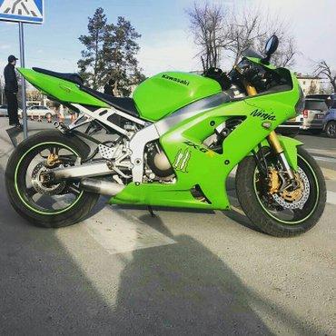 Kawasaki ninja zx6r 2004  в Лебединовка