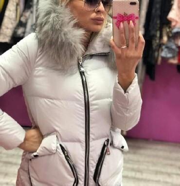 Jakna sa krznom - Srbija: Vrhunska jakna sa prirodnim krznom vel S M Novo