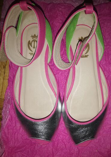 Opet sandale br - Srbija: Kožne, interesantne sandalice, ručno rađene, (ime brenda ne odgovara