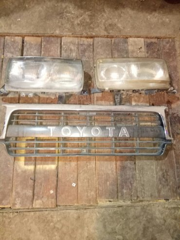 Решетка и фары и бампер от Тойота Ленд круизер 80. в Кара-Балта