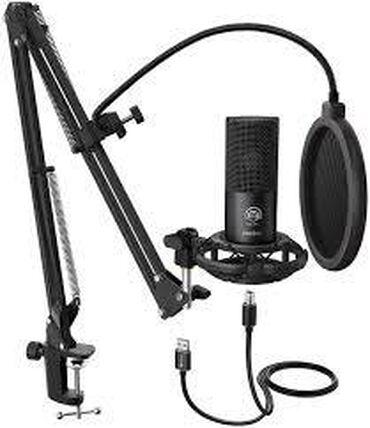 винил мастер наклейки в бишкеке бишкек в Кыргызстан: Студийный USB микрофон Fifine T669 Бишкек    USB-микрофон для записи с