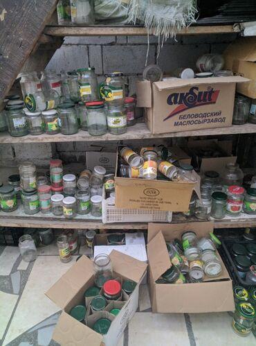 стеклянные банки бишкек in Кыргызстан | ДРУГАЯ ПОСУДА: Продаётся Трех литровые банки плюс разные 05л 06л
