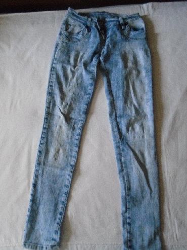 Pantalone uz telo - Srbija: Plitke LTB farmerke, model uz telo, tegljive, sa zipovima pozadi na