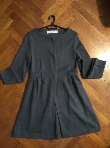 Zara-kaput - Srbija: Nov Zarin kaput sive boje, ustručen; plaćen 11000 din; veličina m